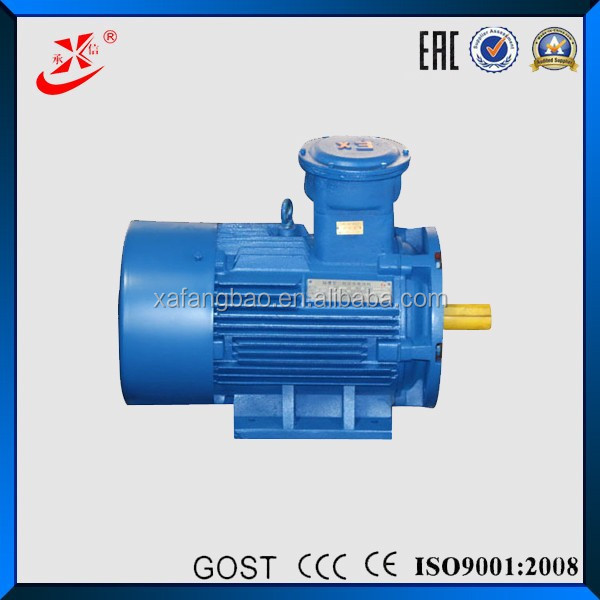 Induction Type Motors 55hp Explosion Proof Induction Motor ERC,CU-TR Certification