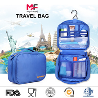 Wholesale custom brand polyester colorful outdoor luggage travel bag for woman