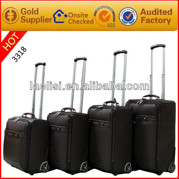 Guangzhou manufacturer trolly luggage sets & suitcase parts