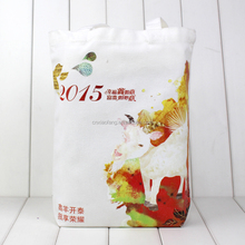 High quality advertisement custom canvas tote bag/cotton fabric bag