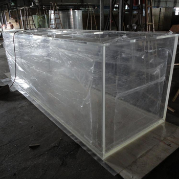 Huge size big custom acrylic aquariums in rooms