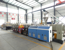 High efficient WPC production line pvc foamed board profiles machine