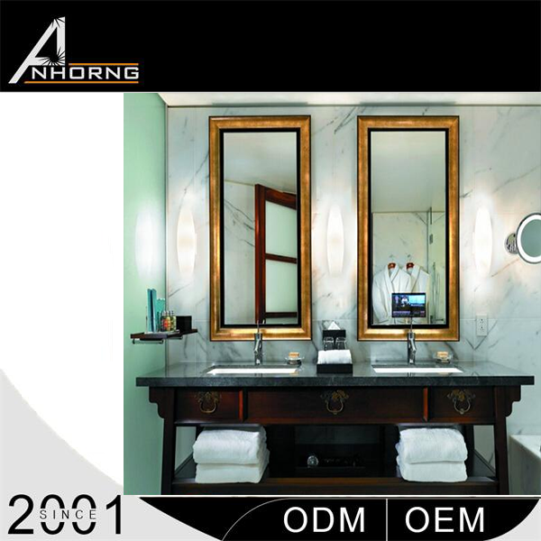 Wall Mounted high quality Water Proof Hotel Mirror Tv