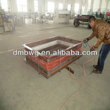 Fabric rectangular expansion joint