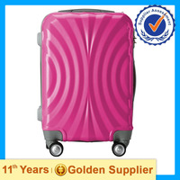 Travel bags, colorful trolley case with wheel for teenage