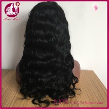 150 Density body wave Full Lace Wig Human Hair Virgin Peruvian Glueless Full Lace Front Human Hair Wigs With Baby Hair
