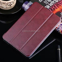 Customized Protective Back PU Leather Tablet Cover For Apple iPad Mini 4 2 Case