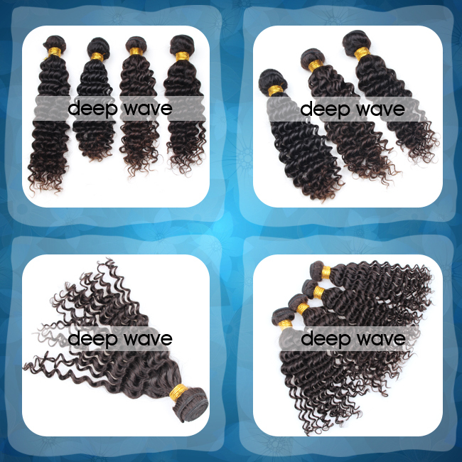 Fast shipping virgin human brazilian deep wave human hair for braiding