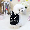 GMT060375 Factory Hot High Quality Clothes Pet Smile Vest Dog Accessories Cute Pet Apparel Clothing