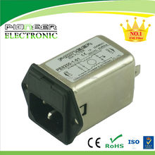 PE8200-1-01 1A 120V/250V Radio Emc Noise Filter Factory