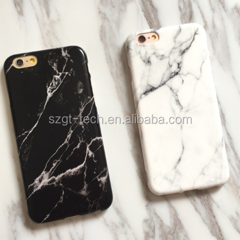Popular Custom Design case for iPhone 7 High Quality tpu Marble Phone Case For Iphone 7 7Plus