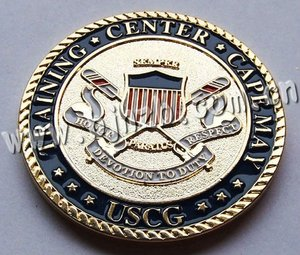 custom design good quality brass coin