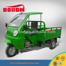 China 150cc semi cabin tricycle with QQ style