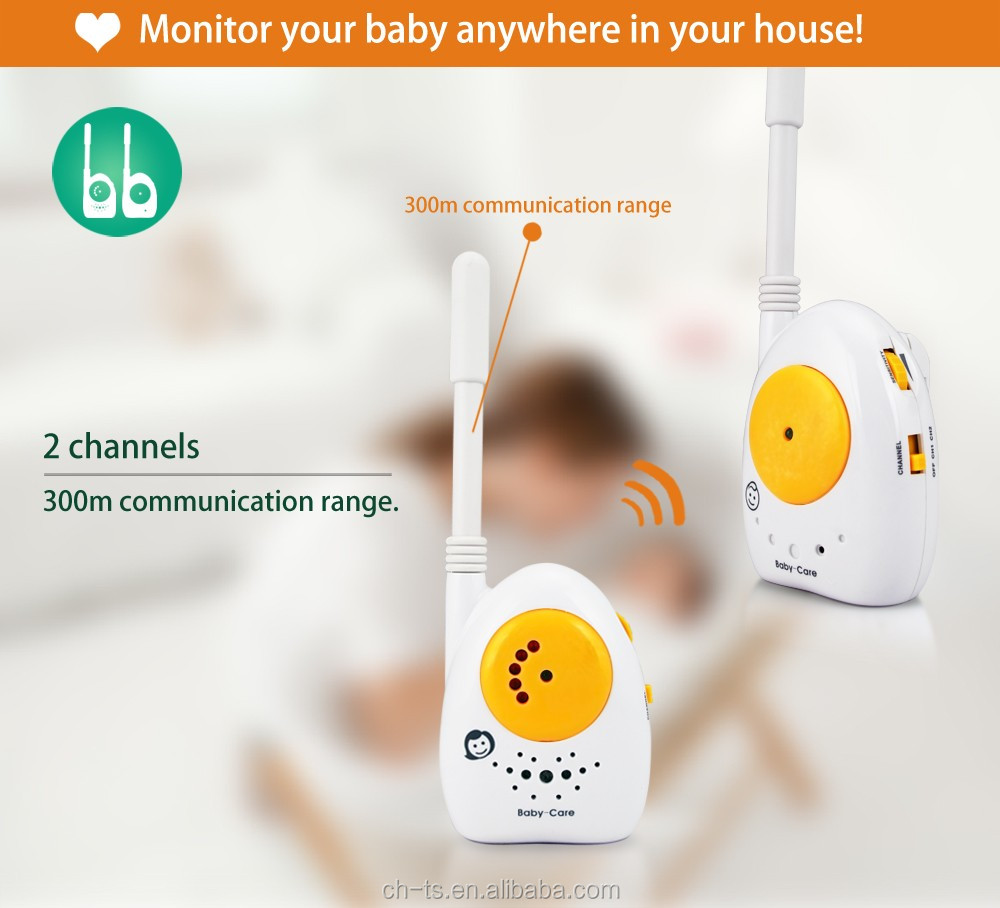 The cheapest 2 Channels Wireless Audio Baby Phone