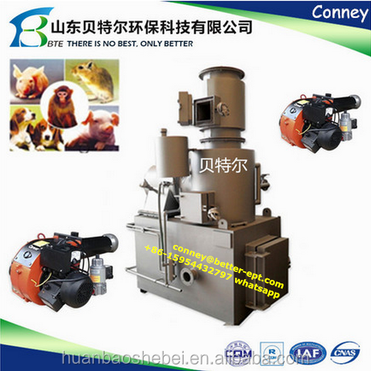 Bio waste incineration machine,, Food waste incinerator