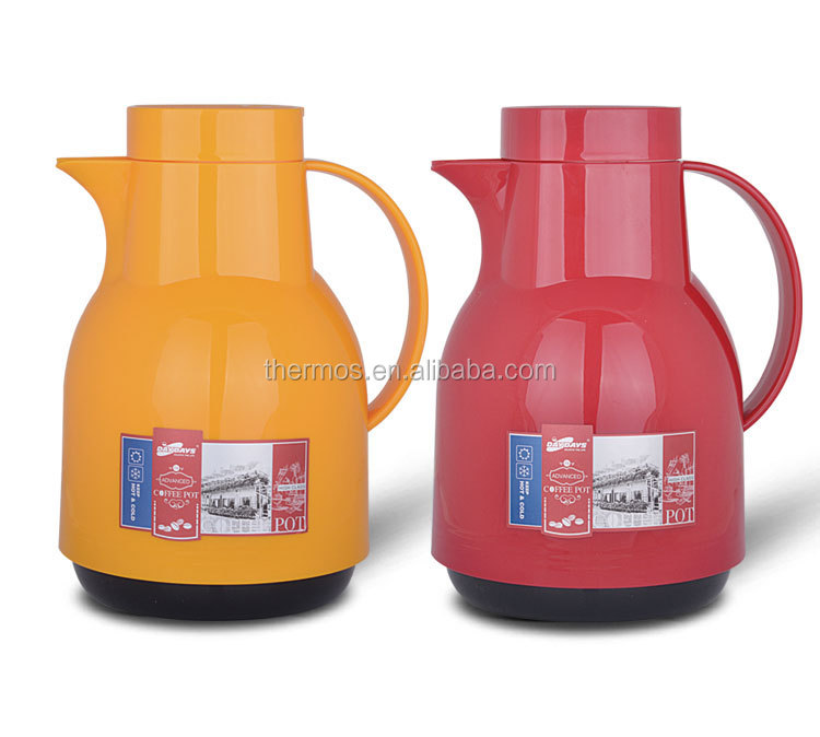 1000ml daydays german model cafetiere red color glass water bottle plastic coffee pot. Black Bedroom Furniture Sets. Home Design Ideas