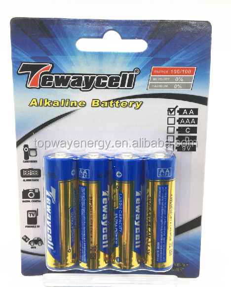 AA Size and 1.5V Nominal Voltage AA ALKALINE BATTERY