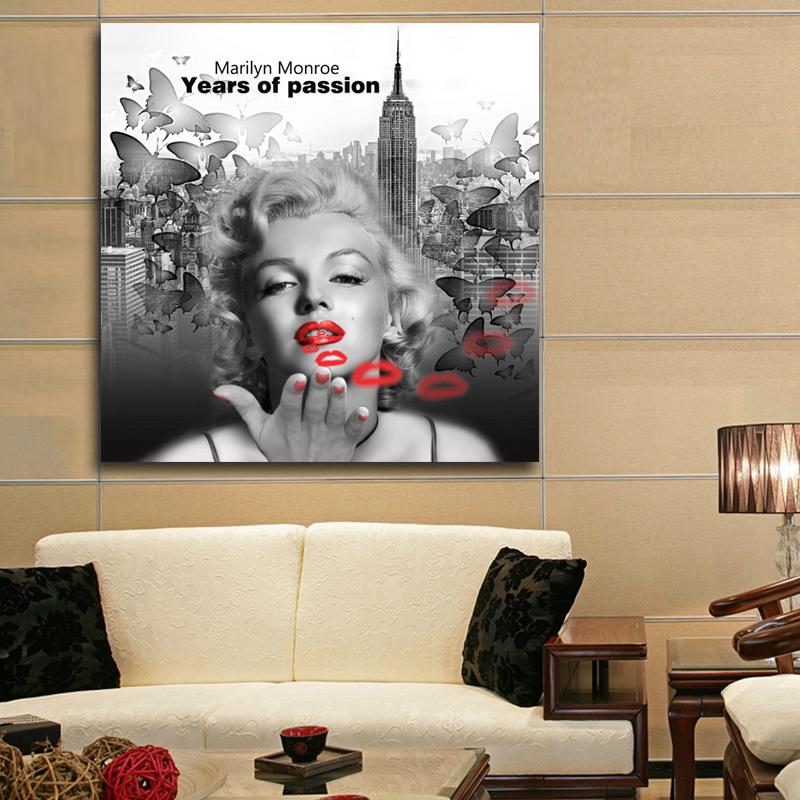 Últimas famosas retrato de Marilyn Monroe fotos de la pintura de la ...