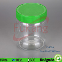 BPA Free Plastic Food Packaging Tub/Container,Small Clear Plastic Bottle with Lid Manufacturer