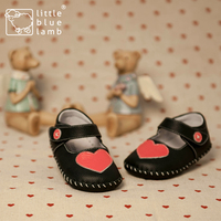 2016 littlebluelamb infant soft leather baby shoes toddler shoe dress baby girl BB-A3118-BK