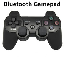 Wireless Bluetooth PC gamepad Joystick Gamepad for ps3 playstation controller