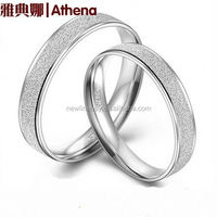 925 925 sterling silver rings Korean version of the ring ring ring ring silver jewelry to push sand thicker version