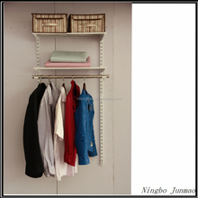 Factory folding wardrobe closet cabinet/ cupboard/ portable metal wardrobe