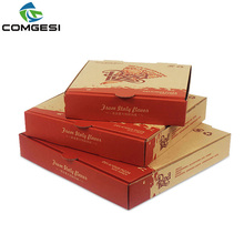 2018 new style design take away/out pizza boxs bags logo size Material custom high quality low price factory Manufacturer