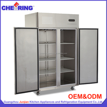 CHEERING 1020L air cooling refrigerator standing double sided refrigerator