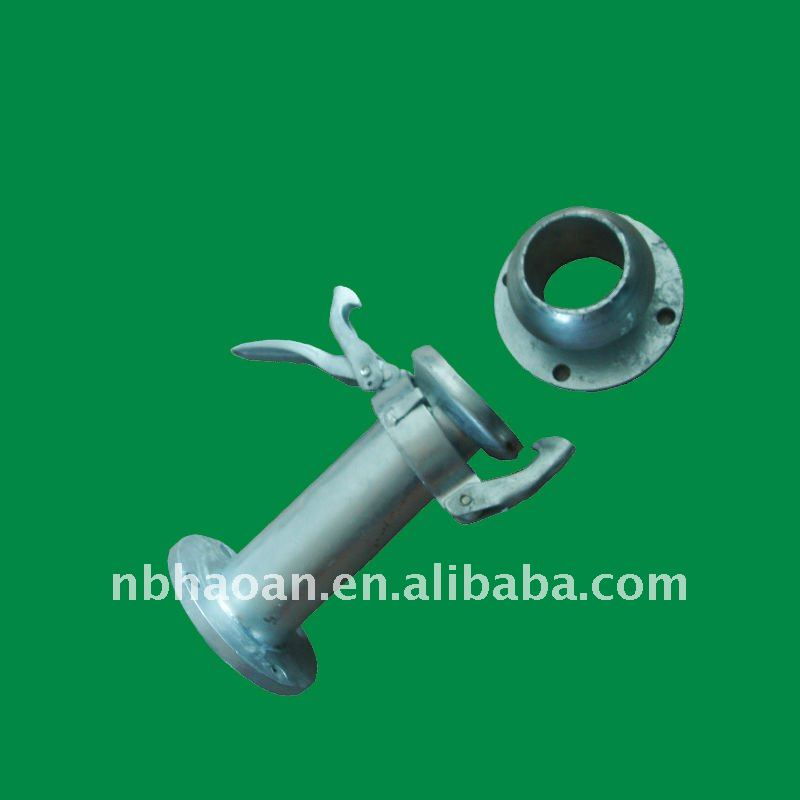 flanged gavalnized steel perrot dewatering coupling pipe joint coupler