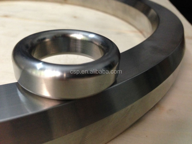 (SS304, SS316,SS316L, Soft Iron) API Ring joint gasket