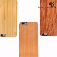 2015 new phone accessories Custom logo cheap wholesale original wood case for iphone