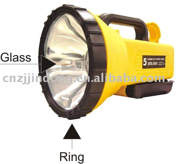 Best selling promotional 5 mil cp rechargeable spotlight with ce approval