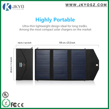 20W High Efficiency Outdoor Solar Panel Charger Folding Solar Charging Bag
