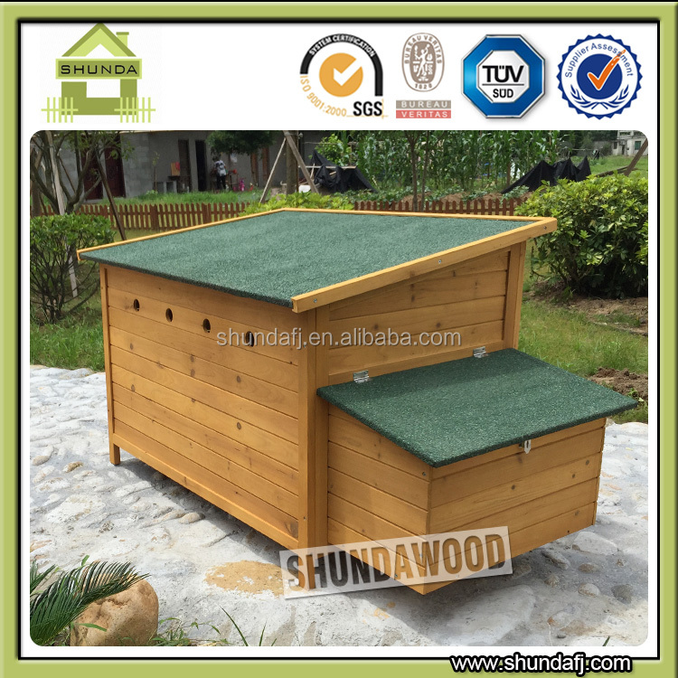 SDC007 Wooden chicken house egg laying chicken coop