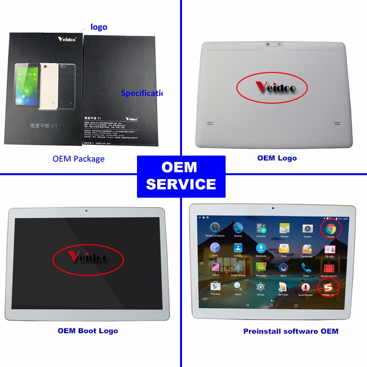 High quality 7 inch android 5.1 4G calling LTE Quad Core MTK 8735 tablet pc Volte