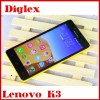 100% new wholesale Price Lenovo smart phone Lenov k3 android4.4 16GB Dual sim multilanguage Phone