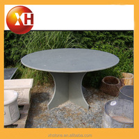 Beer garden plastic and stone table and bench for garden furniture