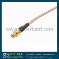 FME male to MCX male pigtail cable RG316 audio jumper cable