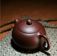 Chinese Yixing Handmade Xishi Hu Tea Pot Zisha Purple Clay Tea Pot