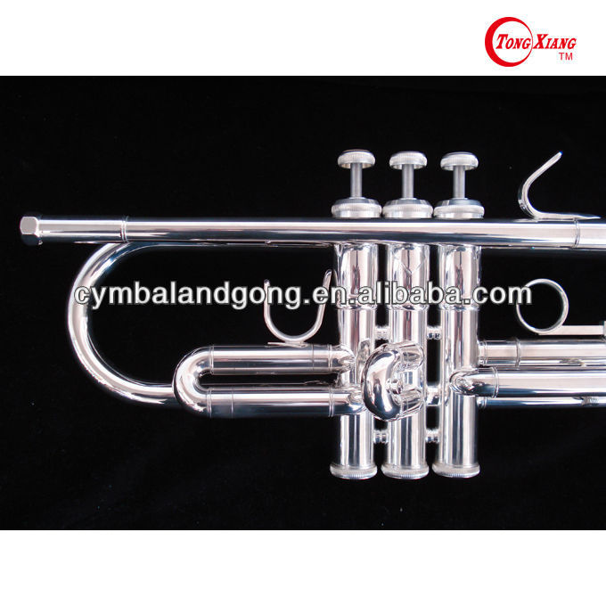 troditional trumpet GTR-300S High quality Bass Trumpet Silver Plated