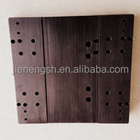 aluminium cnc machining parts with back anodized