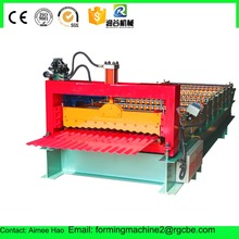 DX hydraulic cold extrusion roof galvanized wall roll forming machine