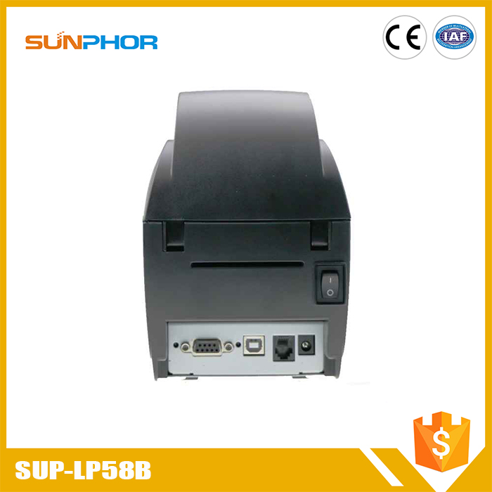 China supplier high quality 2d barcode label printer wireless