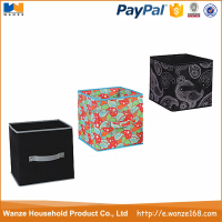 Colorful Foldable Cardboard Cheap Clothes Storage Box Good Quality