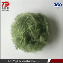 Polyester stuffing recycled custom color dope dyed non-woven fabric use raw cotton fiber with high quality