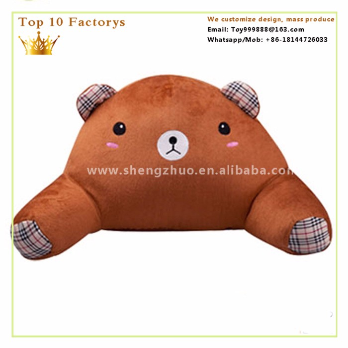Plush Stitch toy cartoon office lady england standard waist pillow