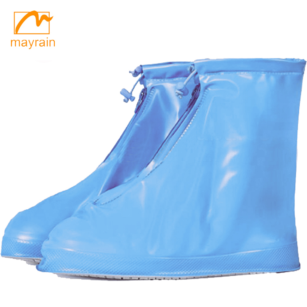 2017 adult pvc rain shoes protectors fashion waterproof boot covers
