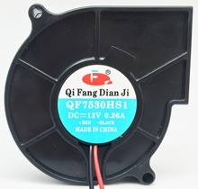 QFDJ small size air blower fan with 2 inch 3 inch 4 inch 5 inch 12v dc blower centrifugal fan