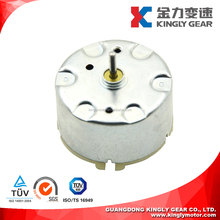 2mm Shaft Low Speed Brush Motor JRF/K-500TB-12560 DC 1.5v to 12v